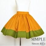 A Vintagely Modern Skirt