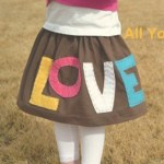The All You Need is Love Skirt