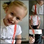 Ruffled Suspenders Tutorial