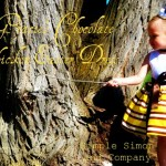 Gracie's Chocolate Chicken Easter Dress