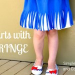 A How to Make A Skirt with Fringe Tutorial