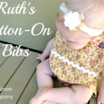 Ruth's Button on Bibs (A How To)