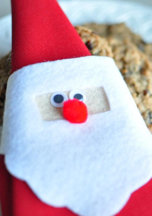 Vintage Santa Napkin Holder Tutorial