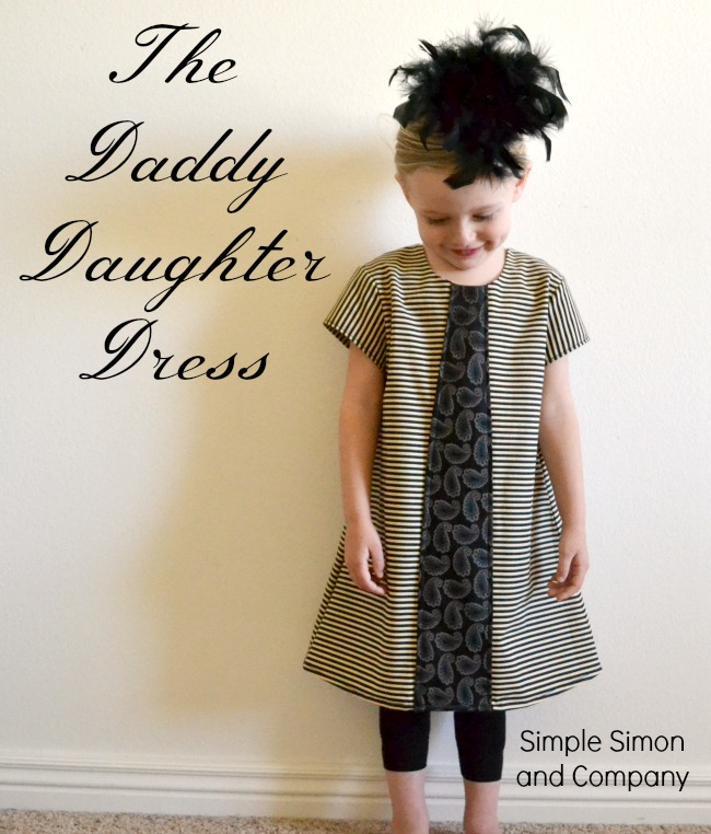 $5 Friday: The Daddy Daughter Dress OR The Stolen Tie