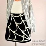 Simple Spider Web Skirt Tutorial
