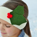 Easy Holiday Ear Warmers