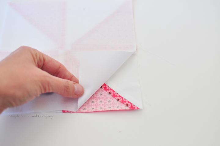 Quilt block Pocket Tutorial