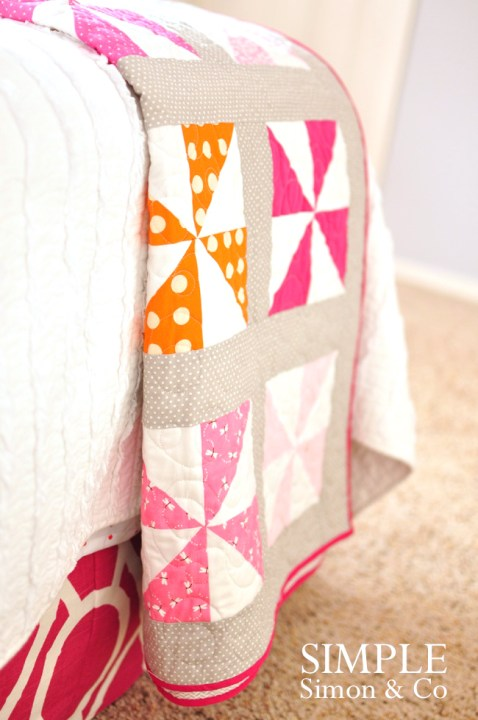 Simple Simon Pinwheel Quilt