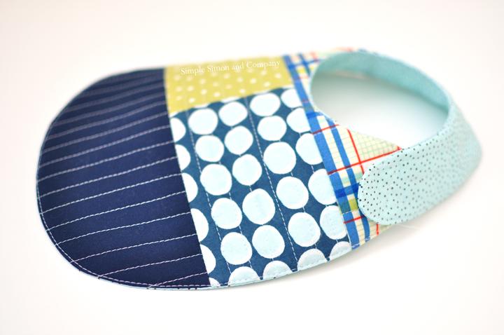 quilt as you go bib-simplesimonandcompany