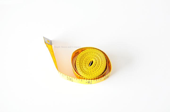 simple sewing tools--tape measurereal