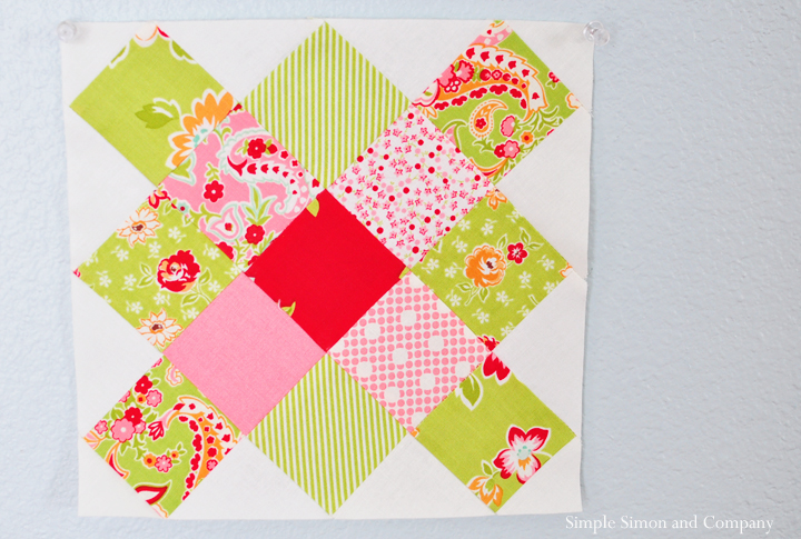 Round Robin Quilt Block Simple Simon And Company