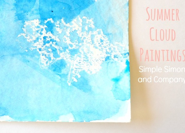 $5 Friday: Summer Cloud Paintings