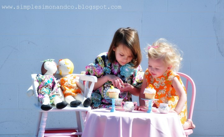 all about easter with dolls