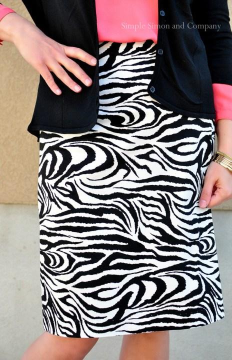 pencil skirt details