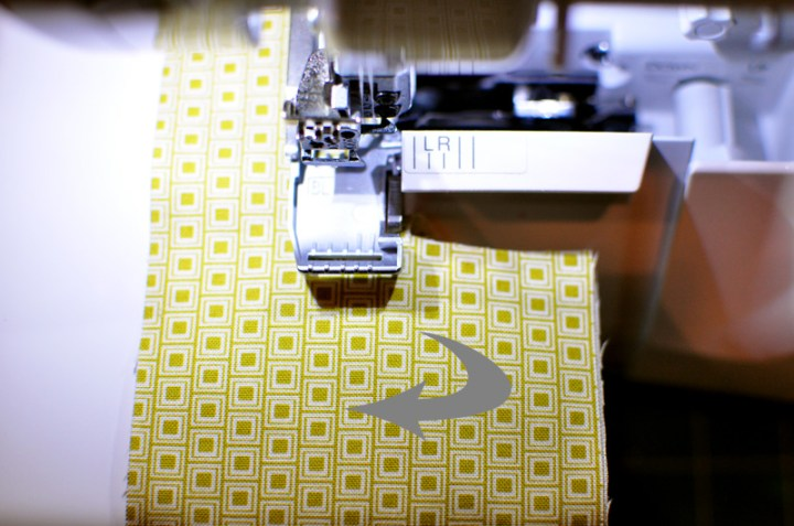 turn and rotate fabric