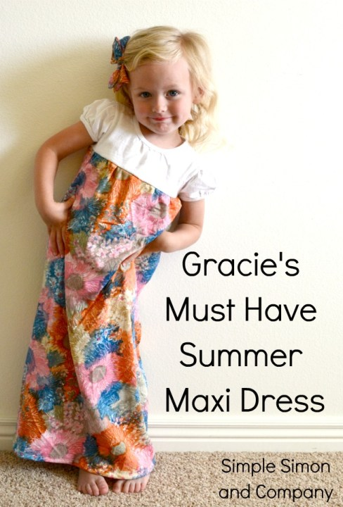 Gracie's Must Have Summer Maxi Dress