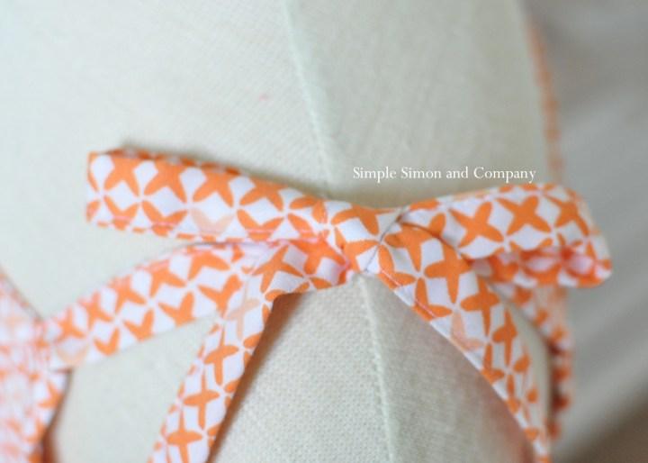 bow details free sundress pattern