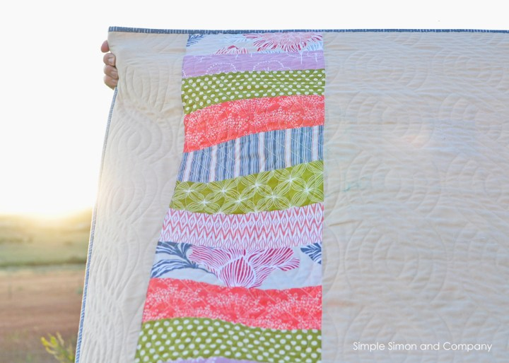 churndash quilt back