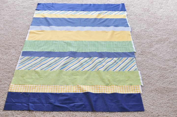 easy quilt tutorial