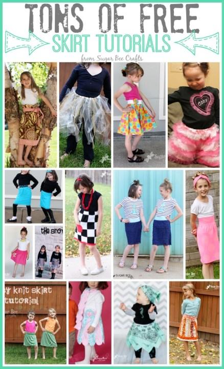 free skirt tutorials