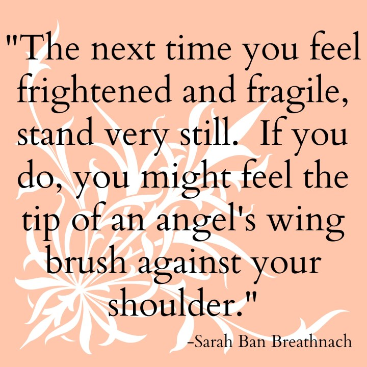 the next time you feel frightened quote