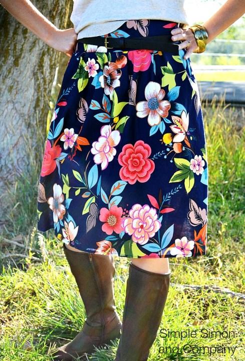 Pleated Skirt Joann Full