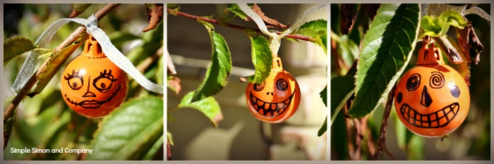 Halloween Pumpkin Ornaments