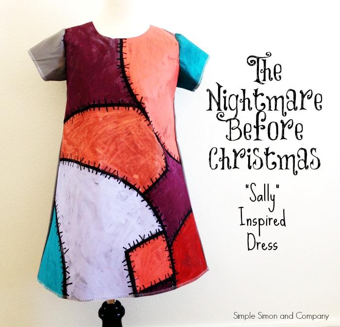 Nightmare Before Christmas Sally Dress