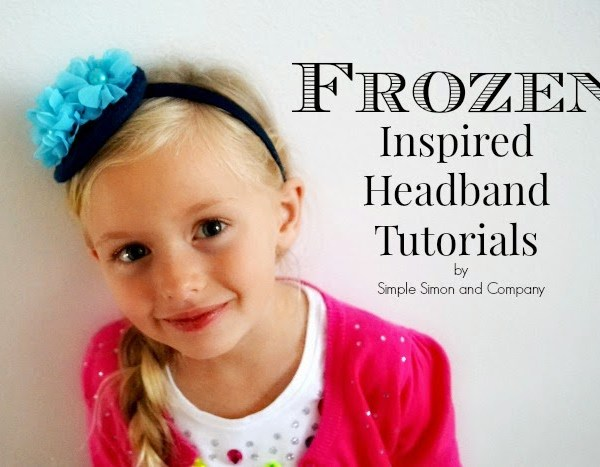 Frozen Inspired Headbands
