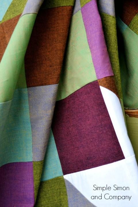 Sawtooth Sunburst Quilt Pattern Detail