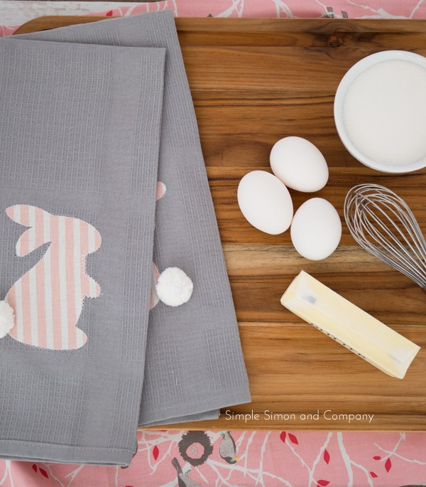 DIY Easter Kitchen Linens