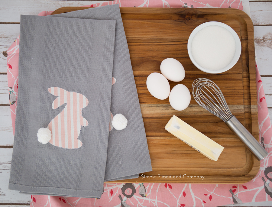 DIY Spring dishtowels