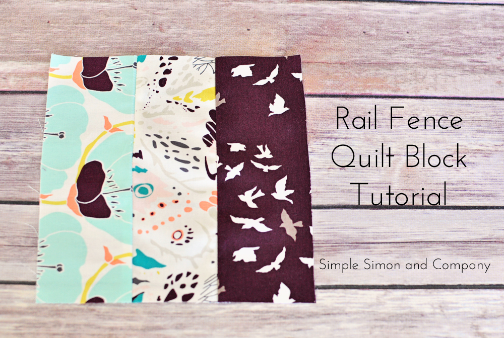 Quilt Block of the Month-The Rail Fence Quilt Block Tutorial ... : rail fence quilt block - Adamdwight.com