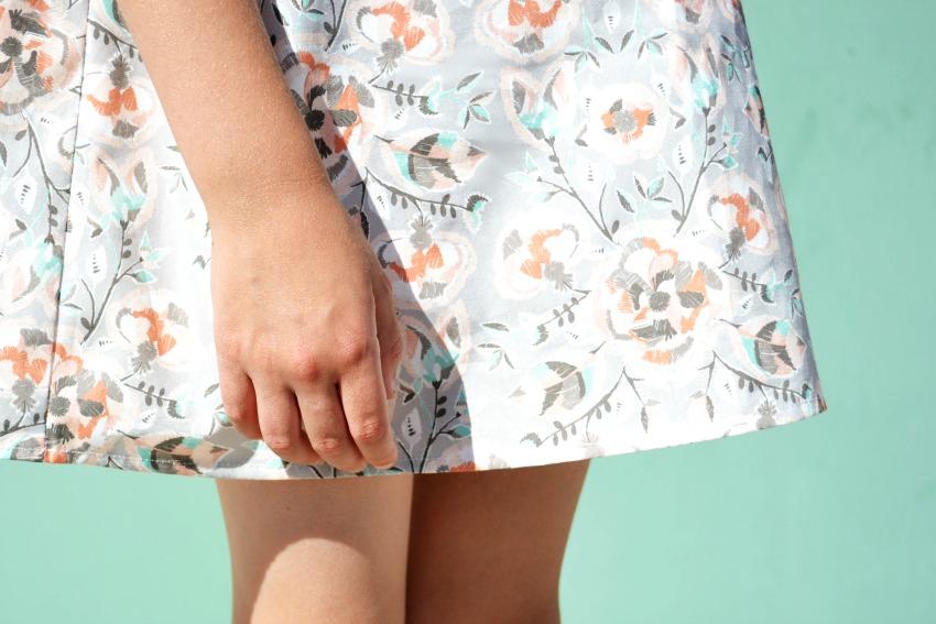 Coyote Fabric Skirt