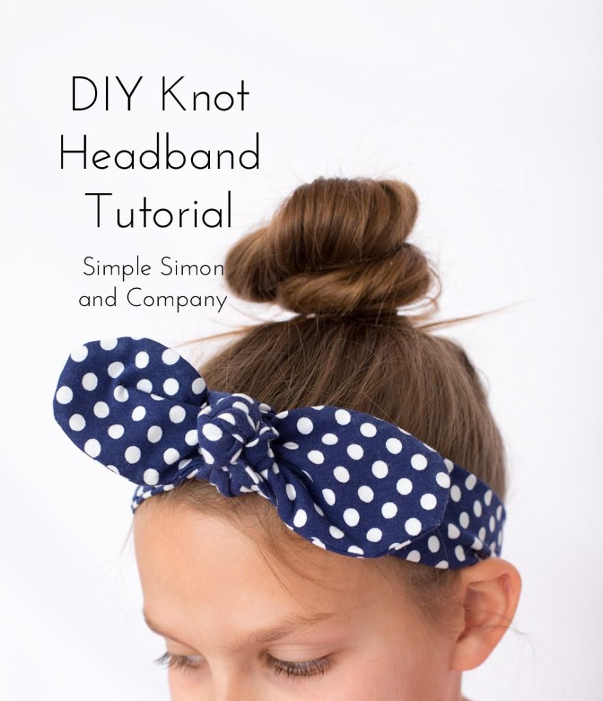 DIY Knot Headband Tutorial