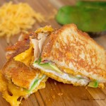 The Art of Homemaking: Turkey, Bacon Avocado Grilled Cheese