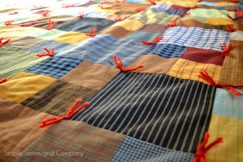 The Make-It-Over-The-Weekend Flannel Quilt Instructions - Simple ... : how to make quilt squares - Adamdwight.com