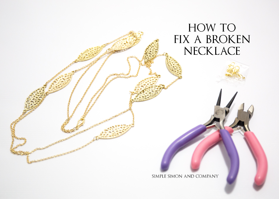 How To Fix a Necklace Title