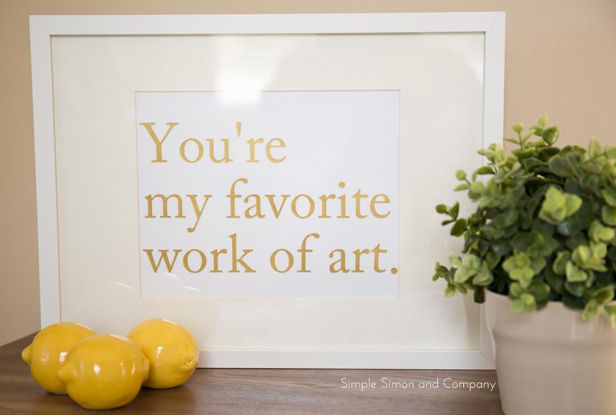 favorite work of art