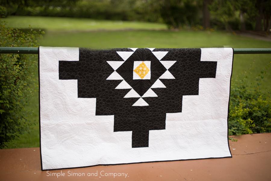 oasis quilt details