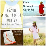4 Easy Swimsuit Cover-ups!
