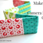 Easy Camera Strap Cover Tutorial