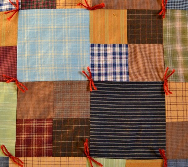 The Make-It-Over-The-Weekend Flannel Quilt Instructions