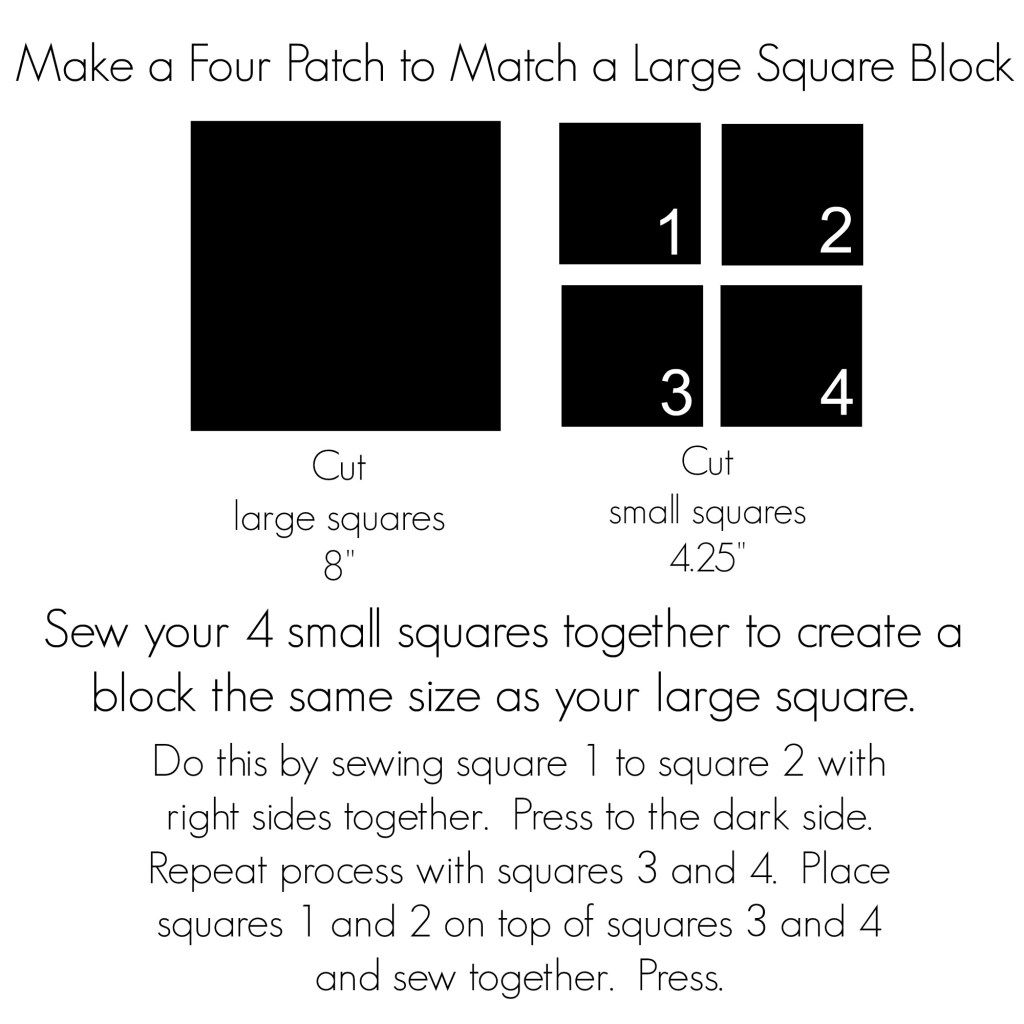 Four Patch Instructions