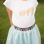 Summer Tee Shirts for Girls with Expressions Vinyl