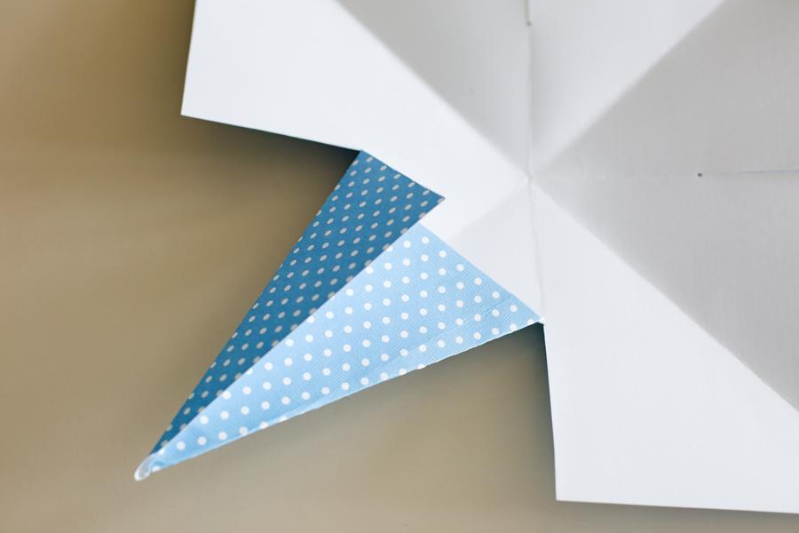 paper stars step 5