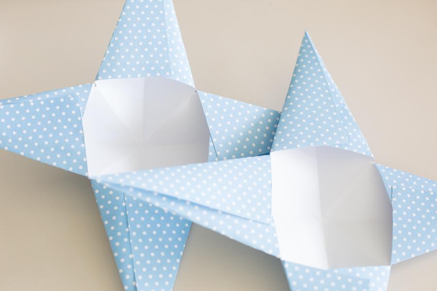 paper stars step 6