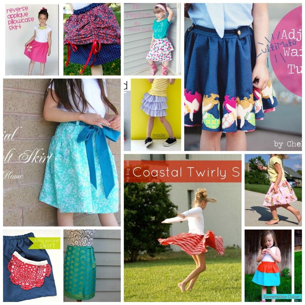 96 Skirt Tutorials Collage 1