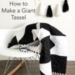 How to Make Giant Tassels