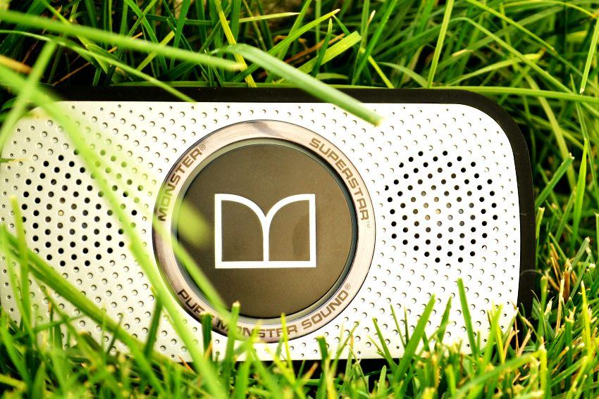 Monster Speakers in Grass